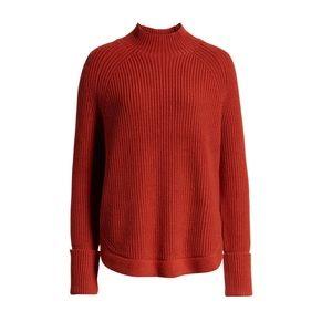Treasure & Bond Mock Neck Sweater